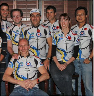 Founding the One Aim Cycling Club 11-11-11